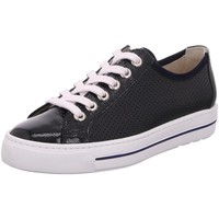 Schuhe Damen Sneaker Low Paul Green 4860 4860-036 blau