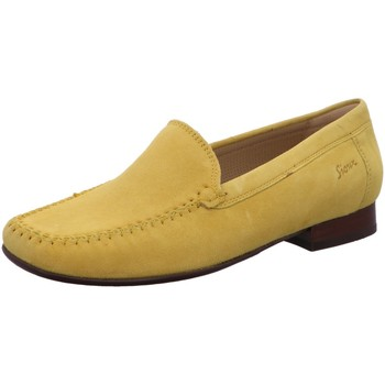 Schuhe Damen Slipper Sioux Slipper 8163119 gelb