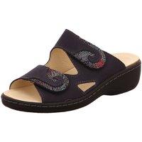 Schuhe Damen Pantoletten / Clogs Belvida Pantoletten blau