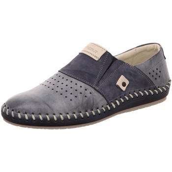 Schuhe Herren Slipper Krisbut Slipper 5164-2 blau