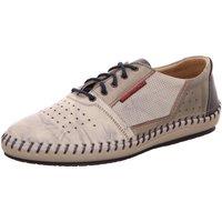 Schuhe Herren Richelieu Krisbut Schnuerschuhe 5200-2 grau