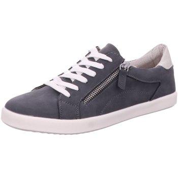 Schuhe Damen Derby-Schuhe & Richelieu Idana Schnuerschuhe SchnUErhalbschuh sportlich/Sne 236655000/837 blau