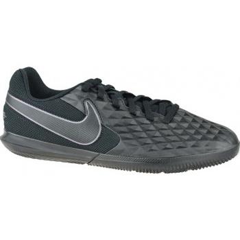 Schuhe Kinder Indoorschuhe Nike Tiempo Legend 8 Club IC Jr Schwarz