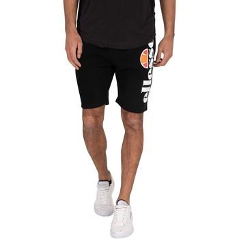 Kleidung Herren Shorts / Bermudas Ellesse Bossini Fleece Sweat Shorts schwarz