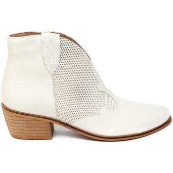 Schuhe Damen Low Boots Bryan 3404 Beige