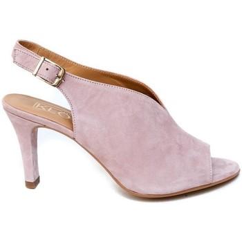 Schuhe Damen Sandalen / Sandaletten Barminton 2539 Rose