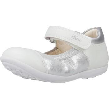 Schuhe Mädchen Derby-Schuhe & Richelieu Geox B JODIE B Silber