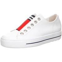 Schuhe Damen Slipper Paul Green Slipper 4797 4797-004 weiß