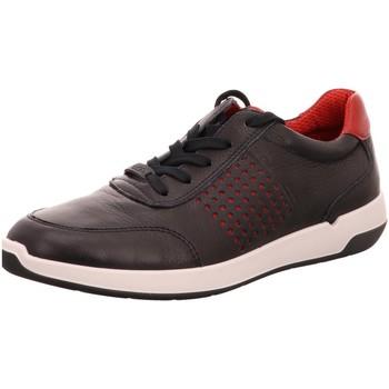 Schuhe Herren Sneaker Low Ara Schnuerschuhe BLAU,ROT 11-37017-06 blau