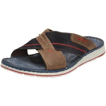 Schuhe Herren Pantoletten / Clogs Rohde Offene 5980-56 blau
