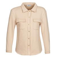 Kleidung Damen Jacken / Blazers Betty London MOUCHE Beige