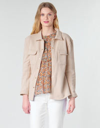 Kleidung Damen Jacken / Blazers Betty London MOUCHE Beige