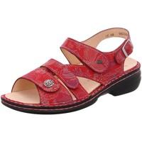 Schuhe Damen Sandalen / Sandaletten Finn Comfort Sandaletten Gomera 02562 - 657420 rot