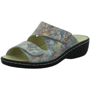 Schuhe Damen Pantoletten / Clogs Longo Pantoletten Farbenfrohe Pantolette 1044783 bunt
