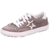 Schuhe Mädchen Derby-Schuhe & Richelieu Vado Schnuerschuhe VADOMAEDCHENHALBLEDER 91002STAR/425 425 grau