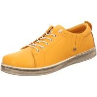 Schuhe Damen Sneaker Low Andrea Conti Schnuerschuhe 0347891116 gelb