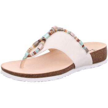 Schuhe Damen Pantoletten / Clogs Think Pantoletten Julia 86336-94 weiß