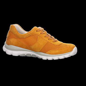 Schuhe Damen Sneaker Low Rollingsoft By Gabor Schnuerschuhe 46.966.31 orange