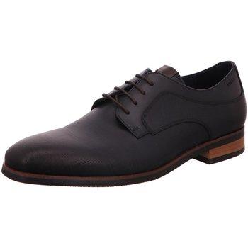 Schuhe Herren Derby-Schuhe Digel Premium Schnürhalbschuh Business Blau Sio Neu 1001922-20 blau