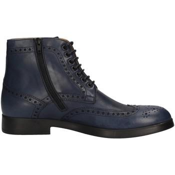 Schuhe Herren Klassische Stiefel Campanile 1344 BLUE