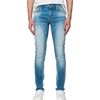 Kleidung Herren Slim Fit Jeans Antony Morato JEANS TAPERED OZZY W01195 blau