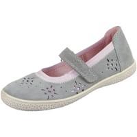 Schuhe Mädchen Derby-Schuhe & Richelieu Lurchi Spangenschuhe Tyra 33-15292-25 grau