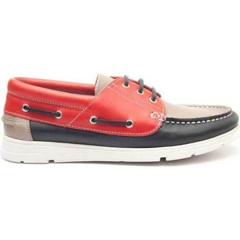Schuhe Herren Bootsschuhe Keelan 63833 MULTICOLORED