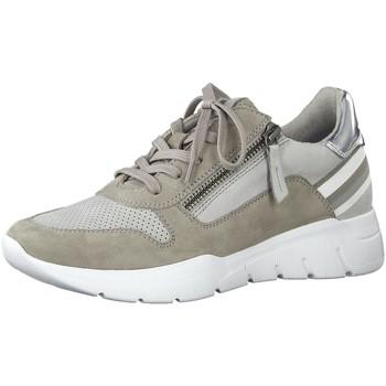 Schuhe Damen Sneaker Low Jana Schnuerschuhe Da.-Schnürer 8-8-23728-24-200 grau