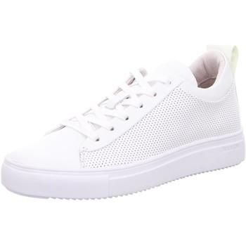 Schuhe Damen Sneaker Low Blackstone WHITH RL71 WHITH weiß
