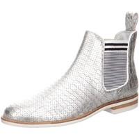 Schuhe Damen Low Boots Melvin & Hamilton Stiefeletten 103614 silber