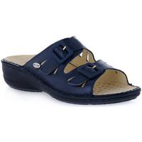 Schuhe Damen Pantoffel Grunland BLU DARA Blu
