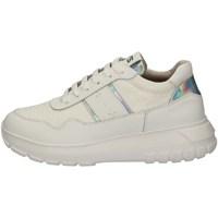 Schuhe Damen Sneaker Low Keys K-801 WEISS