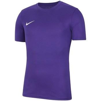 Kleidung Herren T-Shirts Nike Dry Park Vii Violett