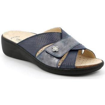 Schuhe Damen Pantoffel Grunland DSG-CE0700 BLU