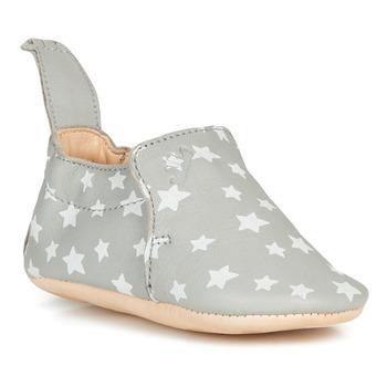 Schuhe Kinder Hausschuhe Easy Peasy BLUMOO Grau