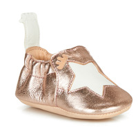 Schuhe Kinder Hausschuhe Easy Peasy BLUMOO ETOILE Rose / Gold