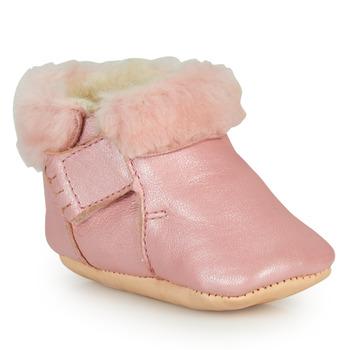 Schuhe Mädchen Hausschuhe Easy Peasy FOUMOU Rose