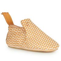 Schuhe Kinder Hausschuhe Easy Peasy BLUBLU Cognac