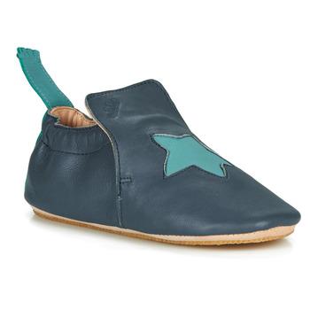 Schuhe Kinder Hausschuhe Easy Peasy BLUBLU ETOILE Blau