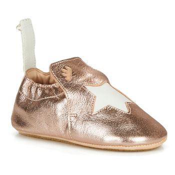 Schuhe Mädchen Hausschuhe Easy Peasy BLUBLU ETOILE Rose / Gold