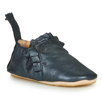 Schuhe Kinder Hausschuhe Easy Peasy BLUBLU FROUFROU Blau