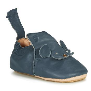 Schuhe Kinder Hausschuhe Easy Peasy BLUBLU MOUSE Blau