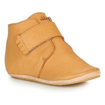 Schuhe Kinder Hausschuhe Easy Peasy KINY UNI Cognac