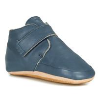Schuhe Kinder Hausschuhe Easy Peasy WINTERBLUE Blau