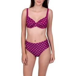 Kleidung Damen Bikini Ober- und Unterteile Lisca Verstellbare Badeanzug-Strümpfe mit hoher Taille Linosa Zartrosa