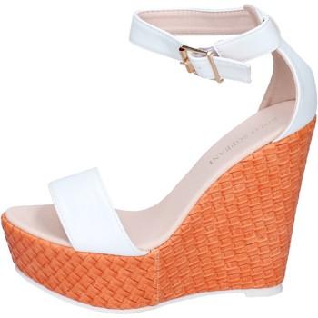 Schuhe Damen Sandalen / Sandaletten Solo Soprani BN642 weiß