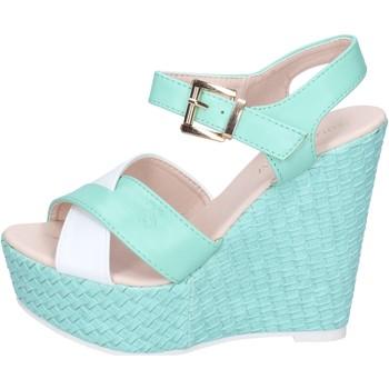 Schuhe Damen Sandalen / Sandaletten Solo Soprani sandalen kunstleder grün