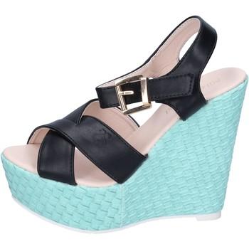 Schuhe Damen Sandalen / Sandaletten Solo Soprani BN644 schwarz