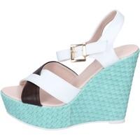 Schuhe Damen Sandalen / Sandaletten Solo Soprani BN646 weiß