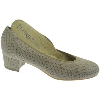 Schuhe Damen Pumps Calzaturificio Loren LO60713li grigio